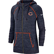 Nike Women's Chicago Bears Vintage Navy Full-Zip Hoodie