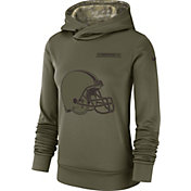 Nike Women's Salute to Service Cleveland Browns Therma-FIT Performance Hoodie