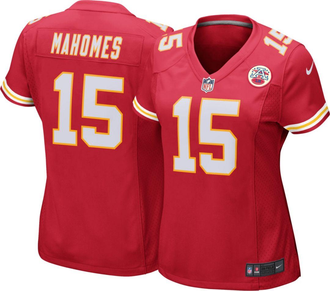 11d0ed01a26 Nike Women's Home Game Jersey Kansas City Chiefs Patrick Mahomes #15 ...