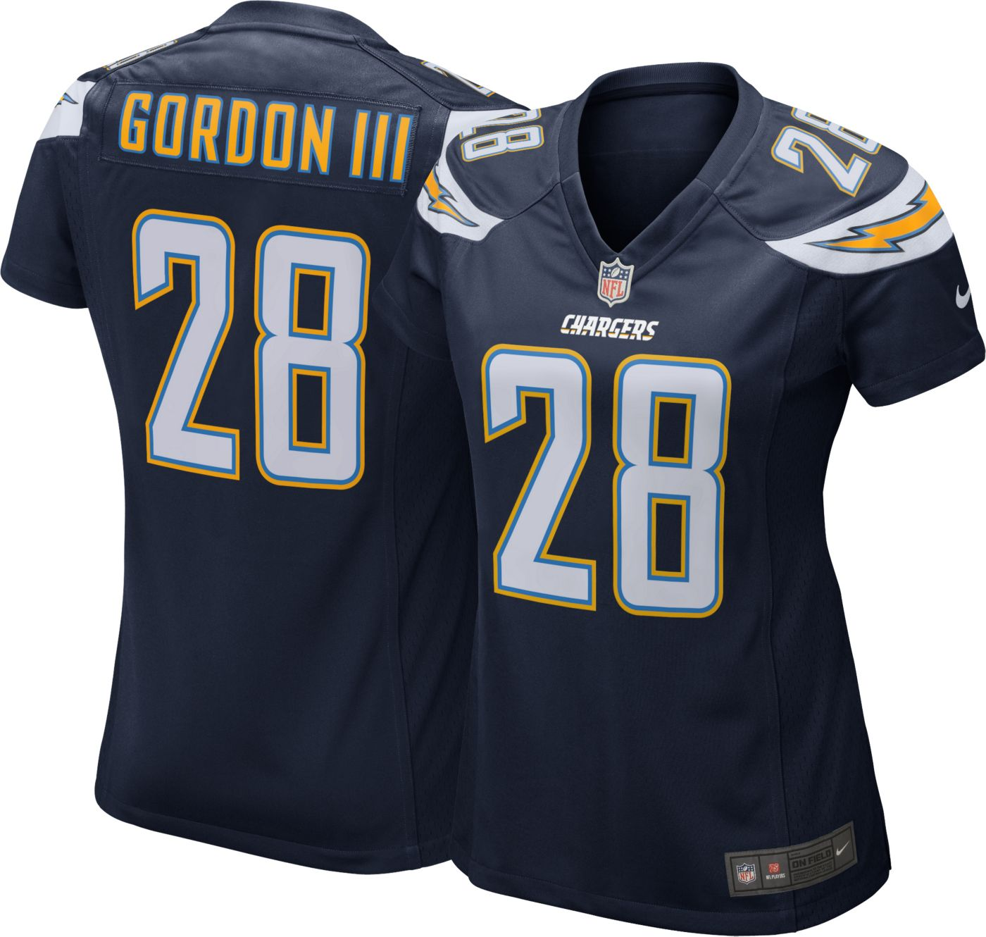 Nike Women's Home Game Jersey Los Angeles Chargers Melvin Gordon #28