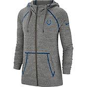 Nike Women's Indianapolis Colts Vintage Grey Full-Zip Hoodie