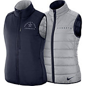 Nike Women's Dallas Cowboys Sideline Reversible Navy Shield Vest 2.0
