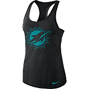 Nike Women's Miami Dolphins Dri-FIT Performance Black Tank Top