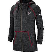 Nike Men's Atlanta Falcons Vintage Black Full-Zip Hoodie