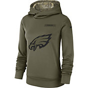 Nike Women's Salute to Service Philadelphia Eagles Therma-FIT Performance Hoodie