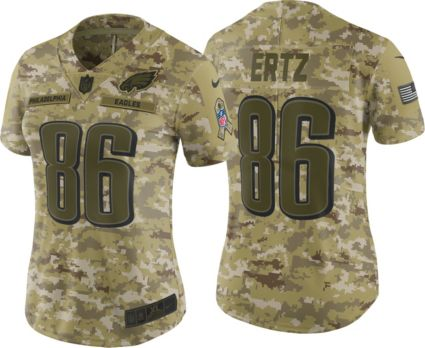 Nike Women s Salute to Service Philadelphia Eagles Zach Ertz  86 Camouflage  Limited Jersey. noImageFound 00a1b557e