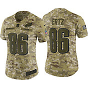 Nike Women's Salute to Service Philadelphia Eagles Zach Ertz #86 Limited Camouflage Jersey