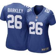 d57767f1b Saquon Barkley #26 Nike Women's New York Giants Home Game Jersey ...