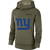Nike Women's Salute to Service New York Giants Therma-FIT Performance Hoodie