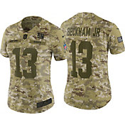 Nike Women's Salute to Service New York Giants Odell Beckham Jr. #13 Limited Camouflage Jersey