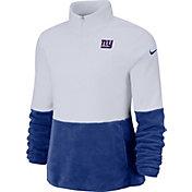 Nike Women's New York Giants Therma-FIT Fleece Half-Zip Pullover
