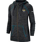 Nike Men's Jacksonville Jaguars Vintage Black Full-Zip Hoodie