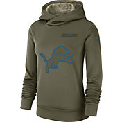 Nike Women's Salute to Service Detroit Lions Therma-FIT Performance Hoodie