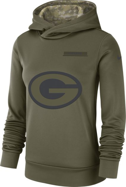 ff9de5ccc29 Nike Women s Salute to Service Green Bay Packers Therma-FIT Performance  Hoodie. noImageFound. Previous. 1