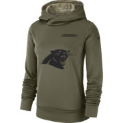 Nike Women's Salute to Service Carolina Panthers Therma-FIT Performance Hoodie