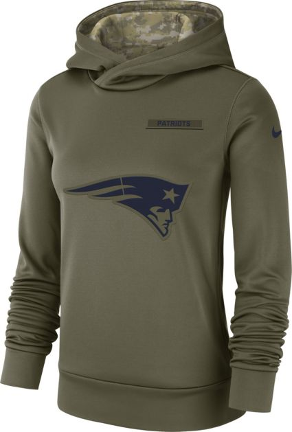 Nike Women s Salute to Service New England Patriots Therma-FIT Performance  Hoodie. noImageFound 451c7c5c0