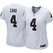 Nike Women's Away Game Jersey Oakland Raiders David Carr #4