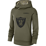 Nike Women's Salute to Service Oakland Raiders Therma-FIT Performance Hoodie