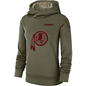 Nike Women's Salute to Service Washington Redskins Therma-FIT Performance Hoodie