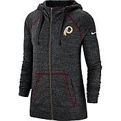 Nike Women's Washington Redskins Vintage Black Full-Zip Hoodie