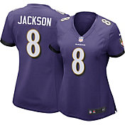 Nike Women's Home Game Jersey Baltimore Ravens Lamar Jackson #8