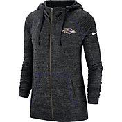 Nike Women's Baltimore Ravens Vintage Black Full-Zip Hoodie