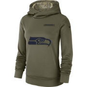 Nike Women's Salute to Service Seattle Seahawks Therma-FIT Performance Hoodie