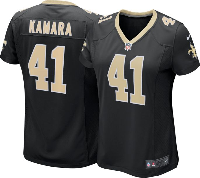 the best attitude 107fa 6e6fa Nike Women's Home Game Jersey New Orleans Saints Alvin Kamara #41