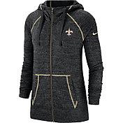 Nike Women's New Orleans Saints Vintage Black Full-Zip Hoodie