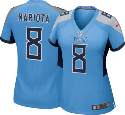 Nike Women's Alternate Game Jersey Tennessee Titans Marcus Mariota #8