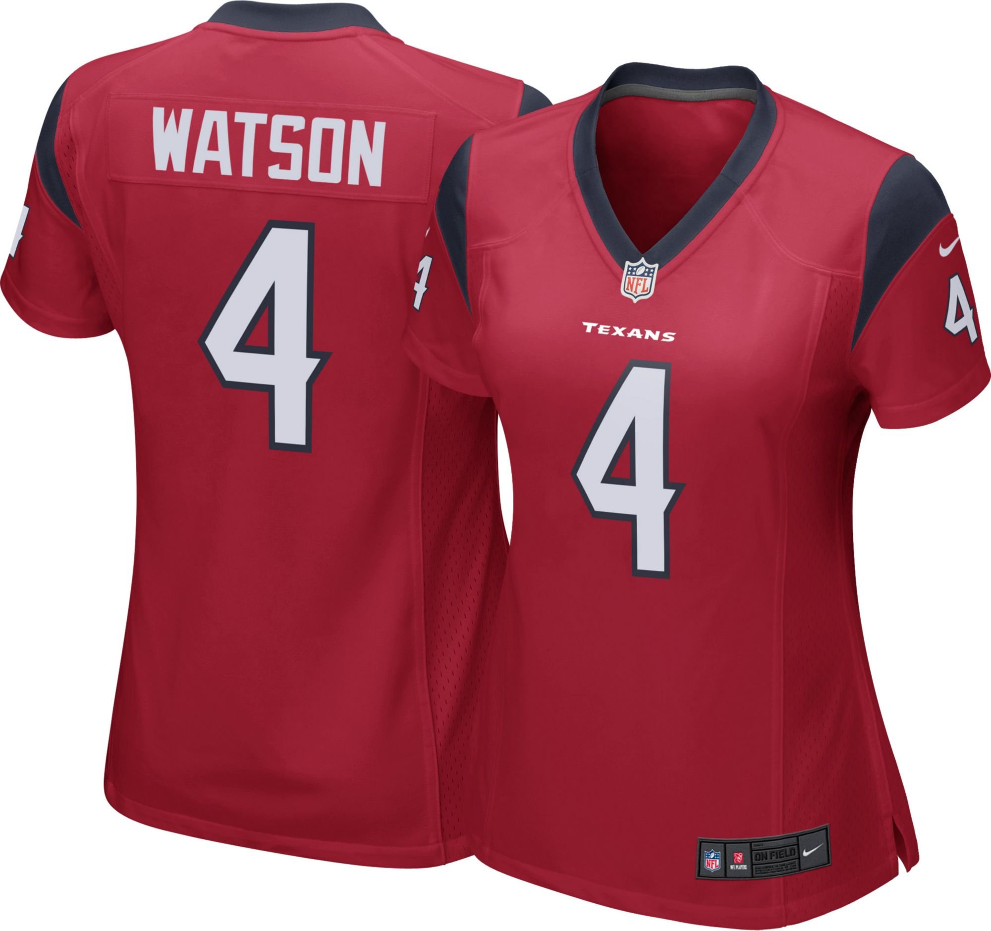 ... ireland nike womens alternate game jersey houston texans deshaun watson  4 75727 41638 afd12ee69