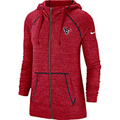 Nike Men's Houston Texans Vintage Red Full-Zip Hoodie