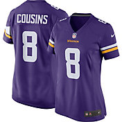 Minnesota Vikings Kirk Cousins #8 Nike Women's Home Game Jersey