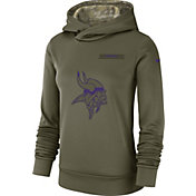 Nike Women's Salute to Service Minnesota Vikings Therma-FIT Performance Hoodie