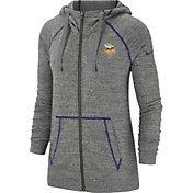 Nike Women's Minnesota Vikings Vintage Grey Full-Zip Hoodie