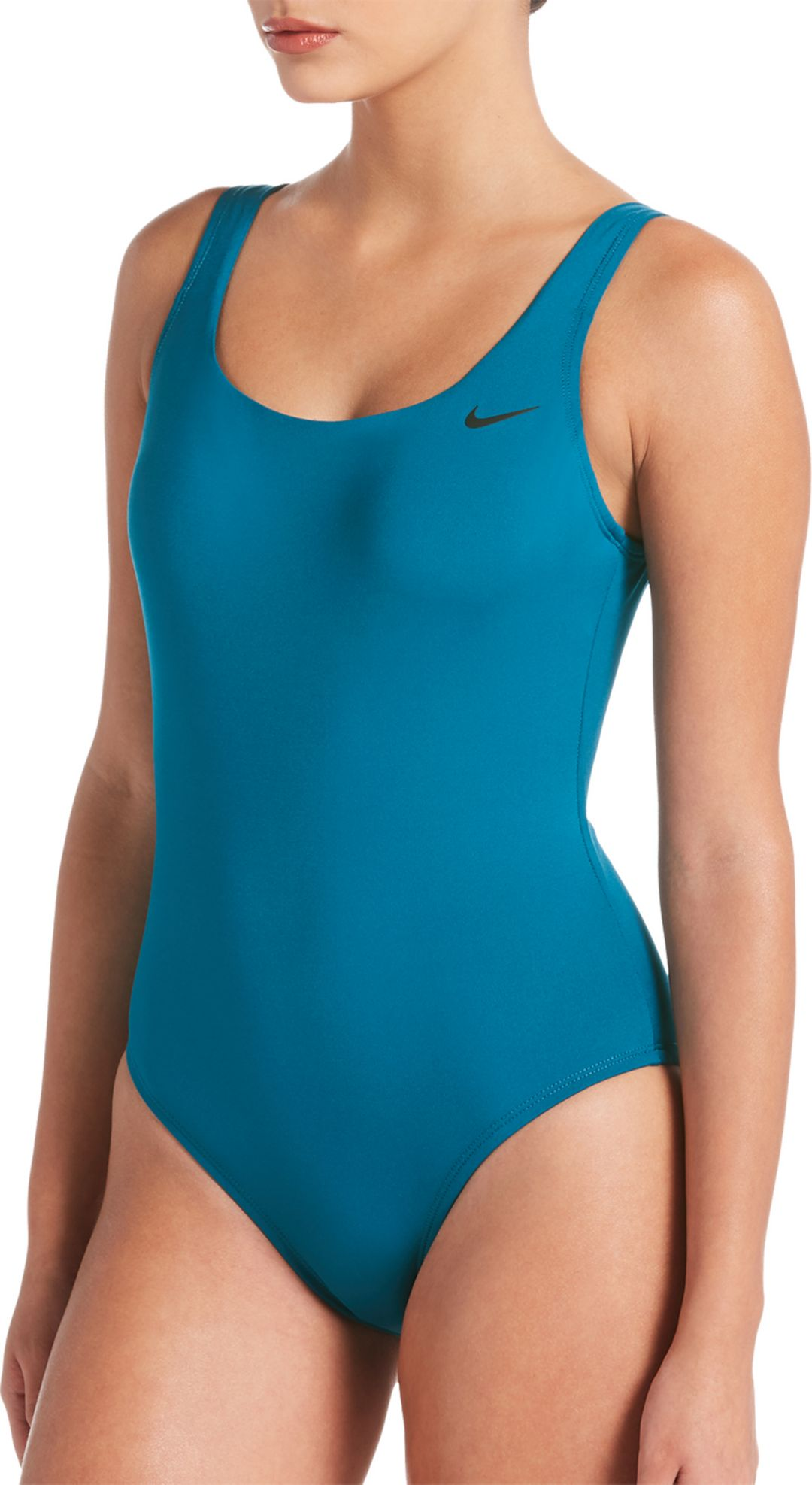 2391c0f6fd3 Nike Women's Solid U-Back One Piece Swimsuit | DICK'S Sporting Goods