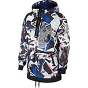 Nike Women's Sportswear Newsprint Half-Zip Jacket