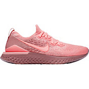 Nike Women's Epic React Flyknit 2 Running Shoes in Pink/Pink