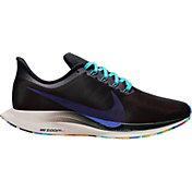 Nike Women's Zoom Pegasus 35 Turbo Running Shoes in Black/Teal/Purple