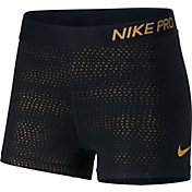 Nike Women's Pro 3'' Metallic Dot Shorts