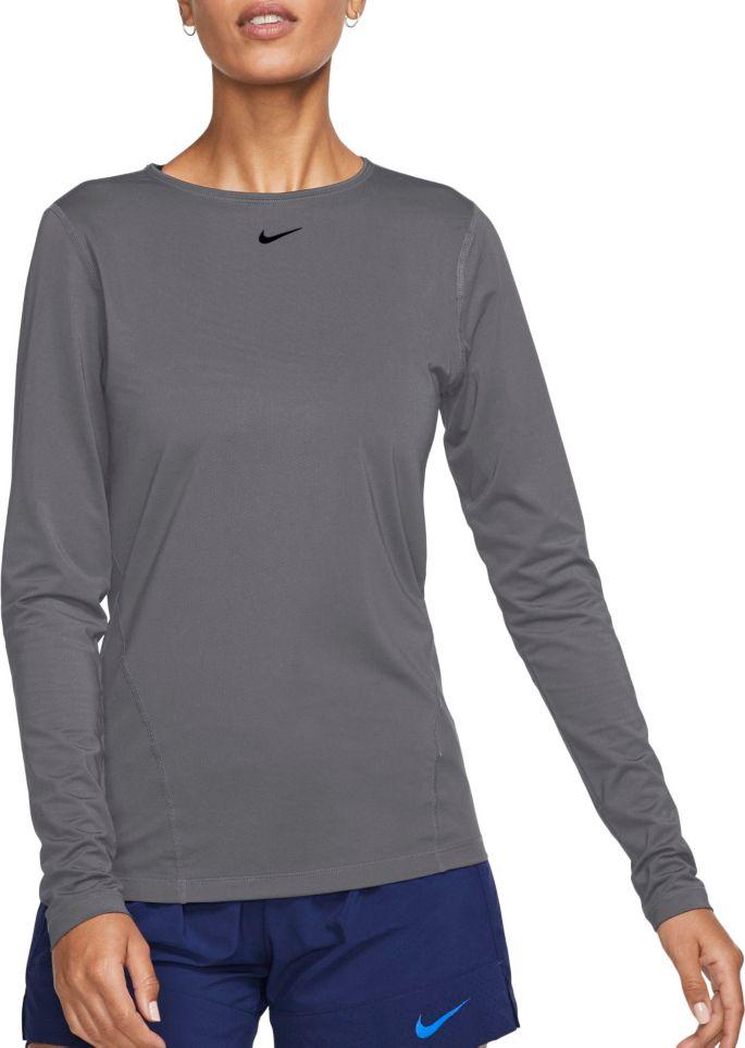 Nike Women's Pro Mesh Long Sleeve Shirt