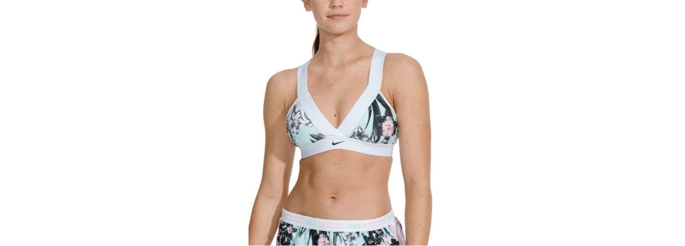 Nike Women's Pro Indy Plunge Hyper Femme Sports Bra
