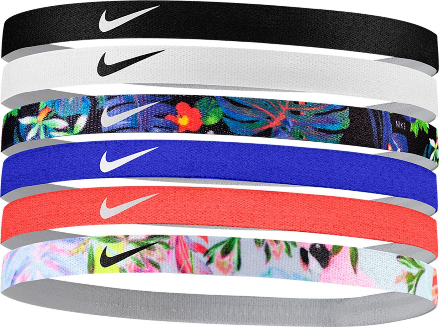 Nike Women's Printed Assorted Headbands – 6 Pack