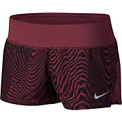 Nike Women's Dry Crew 3'' Printed Running Shorts