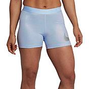 "Nike Women's Pro 3"" Metallic Baselayer Shorts"