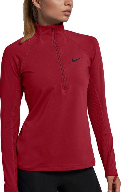 7928d1cb62 Nike Women s Pro Warm Half-Zip Running Shirt. noImageFound