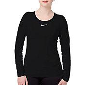 Nike Women's Pro Warm Long Sleeve Training Shirt
