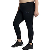 Nike Women's Plus Size Racer Running Tights