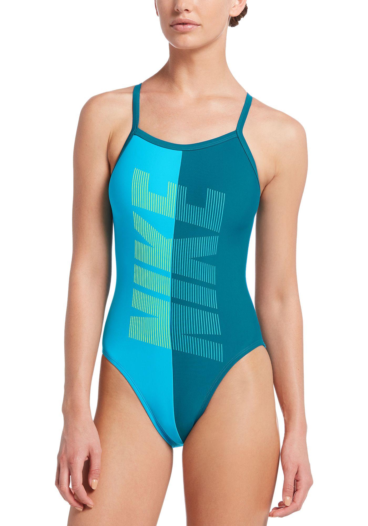 Nike Women's Rift Racerback One Piece Swimsuit