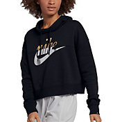 Nike Women's Metallic Rally Hoodie